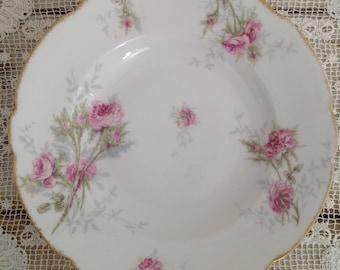 Antique Theodore Haviland Limoges France Soup Plate