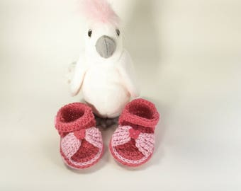 Newborn Sandals, Flip Flops, Summer Baby Shoes, Baby Sandals Crochet,  Baby Summer Clothes, Baby Girl Beach, Baby Girl Shoes, Baby Footwear