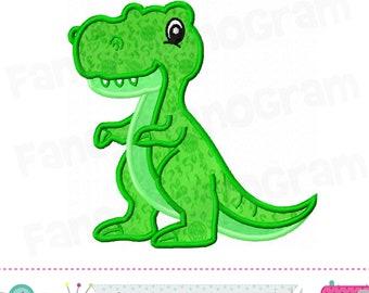 T-Rex Dinosaur Applique embroidery design,Tyrannosaurus Applique embroidery design,Dinosaur embroidery,Dinosaur applique.