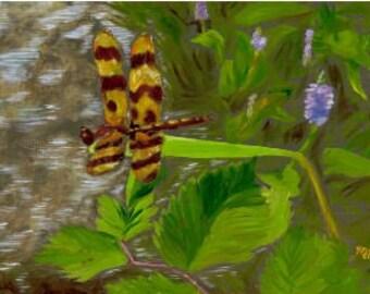 Halloween Pennant Dragonfly print