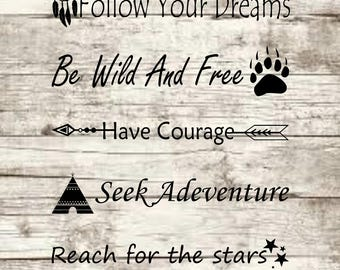 Follow Your Dreams SVG NEW