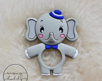 Elephant Teether | Silicone | Sensory | Teething | Baby