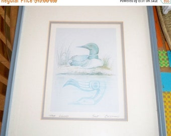 FLASH SALE The Loom bird Print by Susan Coleman