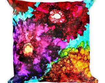 Chakra/Reiki Healing Energy Square Pillow