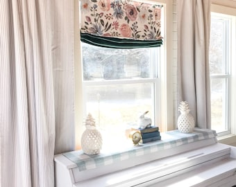 1 Pair Of Curtains, Ticking Striped, Curtains, Classic Stripe, Kitchen  Curtains, Window Treatments, Kitchen Decor, Striped Curtain