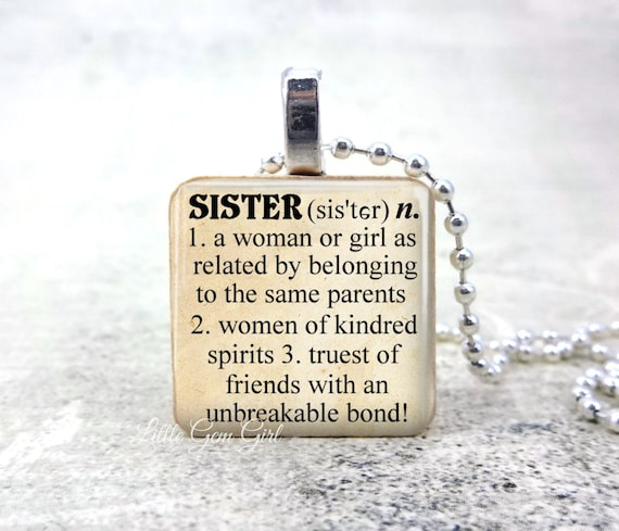 Sister necklace dictionary definition wood pendant sister sister necklace dictionary definition wood pendant sister jewelry twins sisterhood best friend pendant sister quote jewelry aloadofball Choice Image