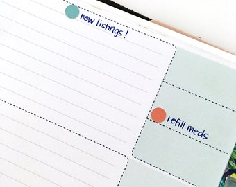 Small dot stickers for inkWELL Press planners