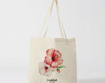 X40Y tote bag flower, bag canvas, cotton bag, diaper bag, handbag, tote bag, bag of race, current bag, bag comp, shopping bag
