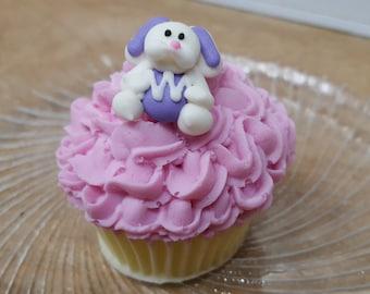 Cupcake Soap - Bunny Hop Vegan Cupcake Soap - Cupcake - Fake Food - Dessert Soap - Novelty - Easter Soap - Bunny - Gift for Kids - Children