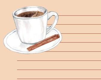 il Caffè - A5 Stationery - Writing Paper