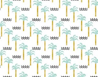 Palm Tree Paradise: Reversible Dog Bandana