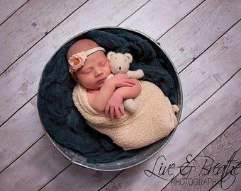 Newborn up to toddler size crochet buddy bear,photo prop,gift idea,boy,girl