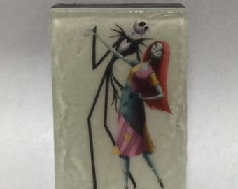 Jack and Sally soap