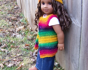 Rainbows are for Everyone Outfit for American Girl