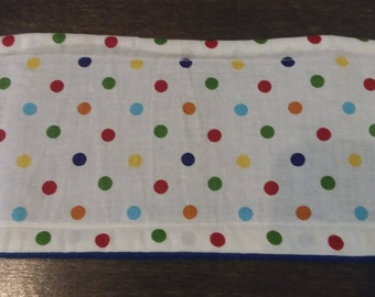 Multi-Color Polka Dot Male Dog Belly Band - XS