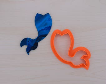 Mermaid Tail Cookie Cutter 100