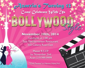 Bollywood Birthday 5x7