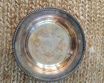 Sale-Vintage Silver Bowl- Vegetable Bowl- SALE WAS 24.00 now 19.00