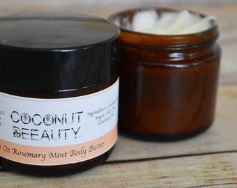 All Natural Whipped Body Butter-  Pick your Scent!