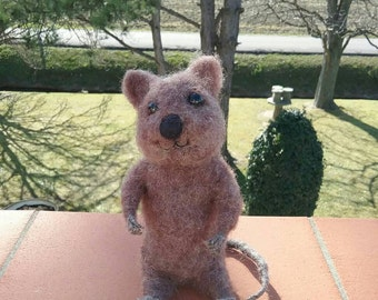 MADE TO ORDER Needle felted Quokka