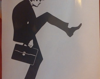 Car Decal - Ministry of Silly Walks - Monty Python Flying Circus Laptop Vinyl Sticker