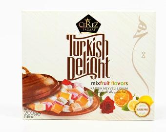 Turkish Delight (Mix Flavors) Lokum (7 0z)