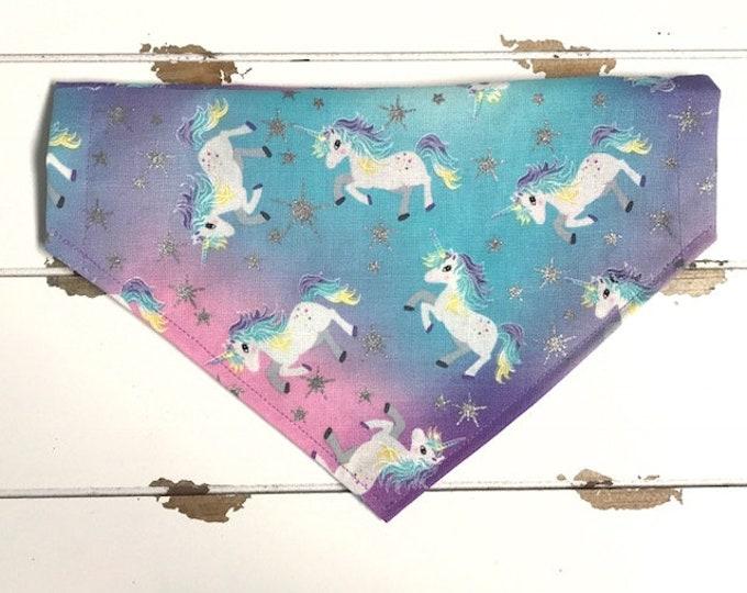 Unicorn & Glitter Stars Bandana