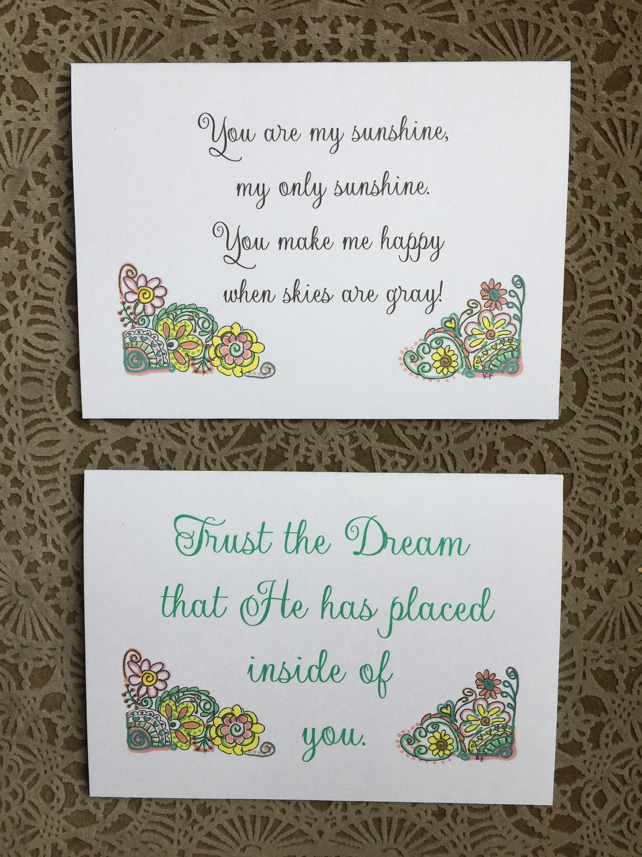 You are my sunshine original design greeting card 5 x 7 art print ...