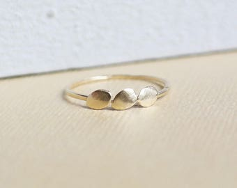 Gold Ring, Solid Gold Ring, Dainty Ring, 9ct Gold Band, Gold Stacking Ring, Gold Jewelry, Boho Ring, 9ct Gold Ring, Gold Wedding Band