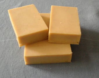 natural soap with Peppermint essential oil