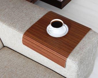 Free Shipping!, Sofa Arm Tray, Sofa Tray Table, Coffee Table, Sofa Table, Wood Tray, Sofa Arm Table, Gift, Home&Living, ACVZ3040FF