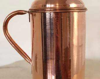 Copper Serving Pitcher