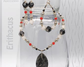 Jewelry Set | Necklace, Bracelet, Earrings | Erithacus PG40230849