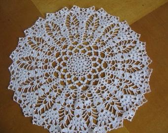 Sale 50% 30.00USD- 15.00USD Crocheted doily/ home decor