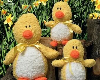Cuddles Chunky Ducks Knitting Pattern