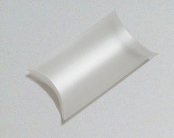 Frosted PIllow Boxes