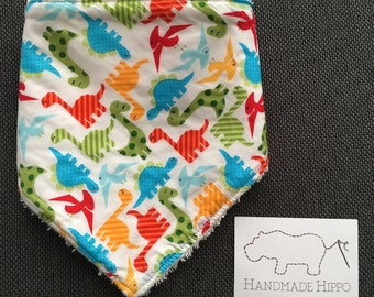 Baby Bandana Style Dribble/Drool Bib- Cotton and Bamboo