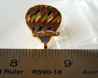 Vintage Metal, Magic Moments Balloon Pin, Hat Pin, Vest Pin, Lapel Pin