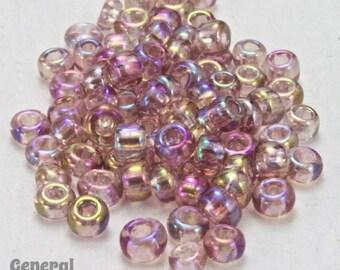 11/0 Transparent Light Amethyst AB Taiwanese Seed Bead (30 gram) #TWJ040