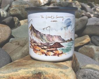 Giant's Causeway Enamel Mug