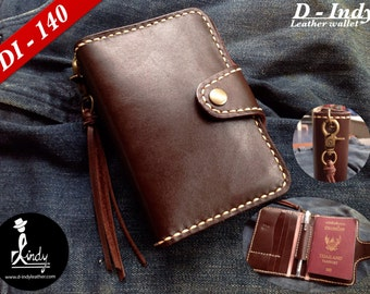 D Indy Passport Leather (Brown)