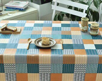 Laminated Fabric, Geometric Patterns Fabric - By the Yard 100820