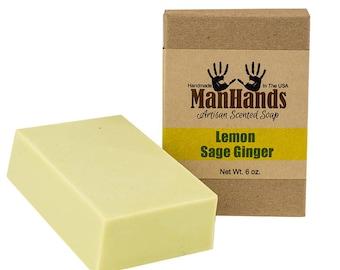 Lemon Sage Ginger 6 oz. Artisan Bar