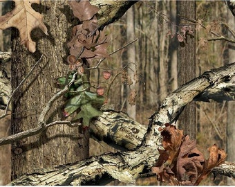 """Mossy Oak Breakup Infinity Outdoor auto air release WRAP/stripe vinyl  Matte laminated 12""""x19"""" - 12""""x152"""""""