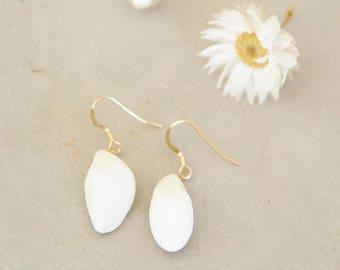 'Cocoon' 14 K Gold-filled earrings