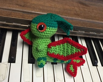 Flygon Pokemon amigurumi plush toy