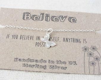 Sterling Silver Butterfly Bracelet, Wish Jewellery, Dainty Butterfly Charm Bracelet, Bridesmaid Bracelet, Graduation Bracelet
