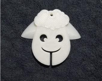 3D Printed Sheep Spin Holder