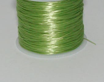5 m elastic Green 0.8 mm thick