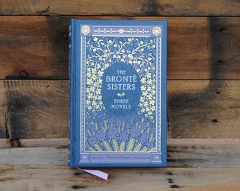 Book Safe - The Bronte Sisters - Leather Bound Hollow Book Safe